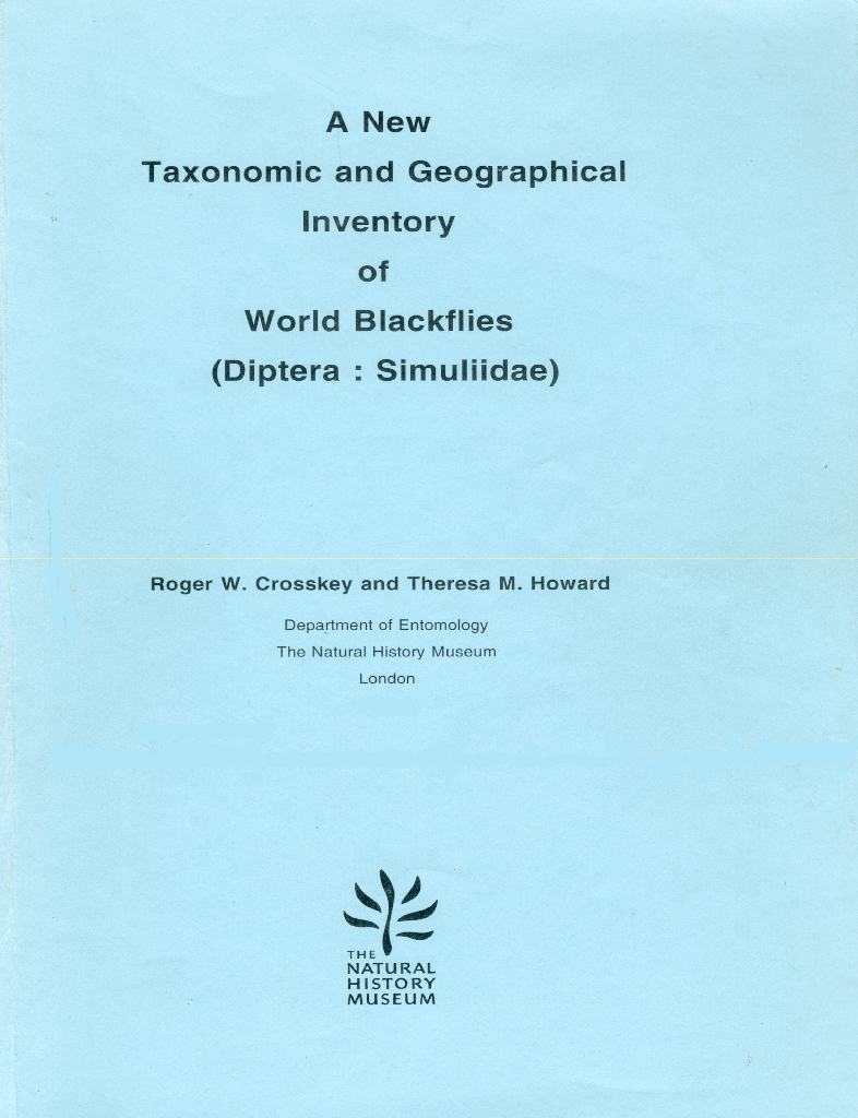 Crosskey & Howard Inventory of World Blackflies